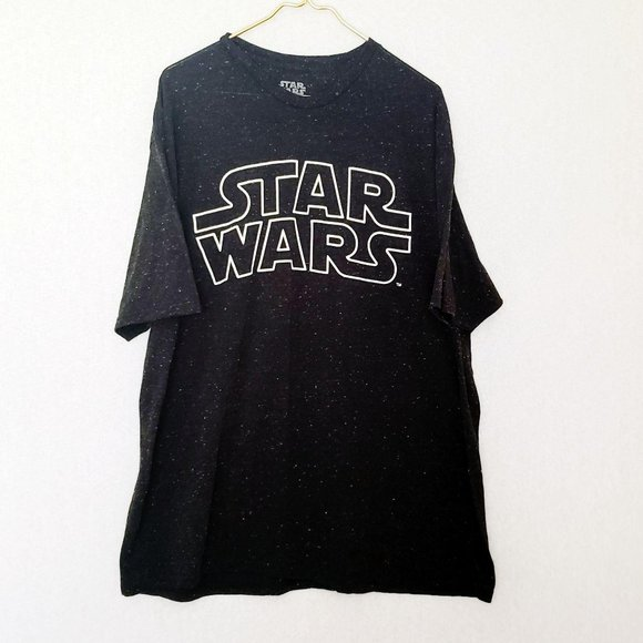 Star Wars Other - Star Wars Black Speckled Graphic Tee T Shirt 3XL